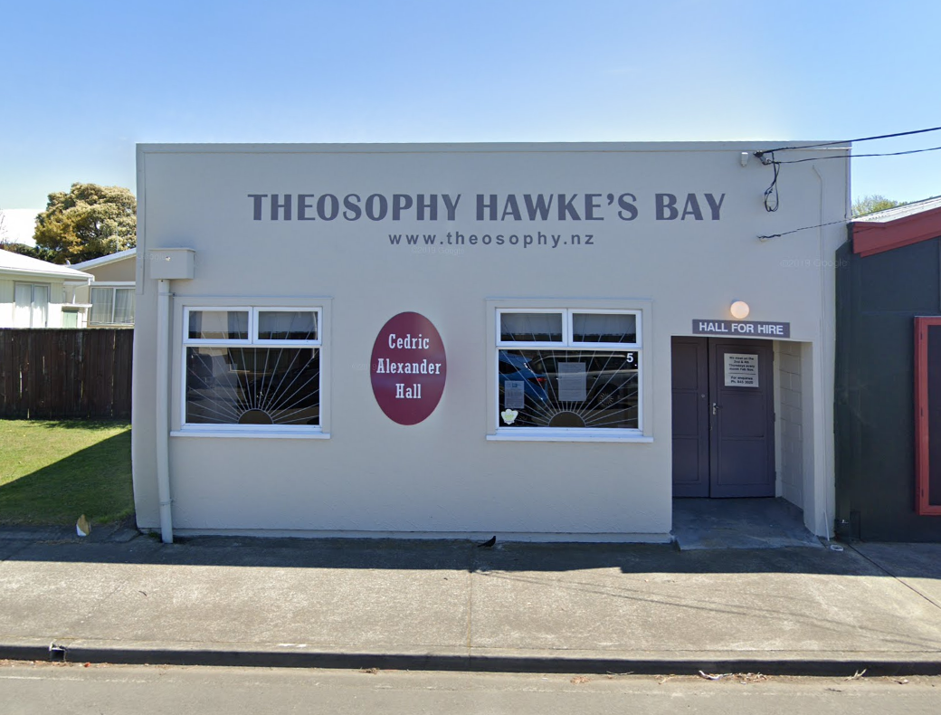 Theosophy Hawke's Bay Building